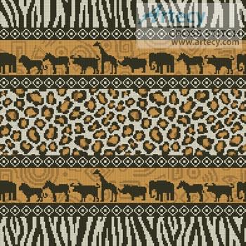 Artecy Cross Stitch African Cushion Cross Stitch Pattern