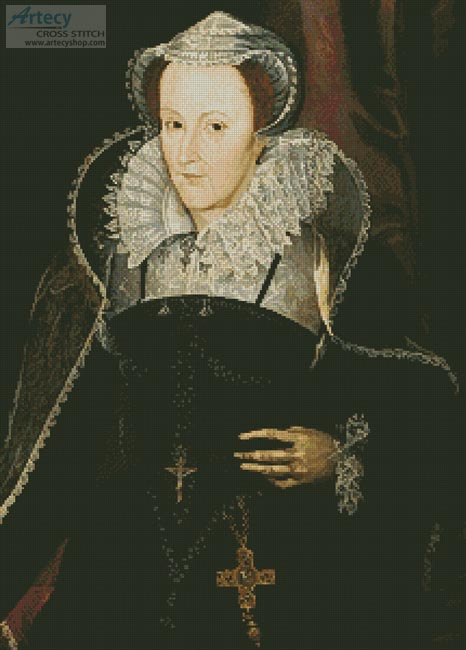 Artecy Cross Stitch Mary Queen Of Scots Cross Stitch