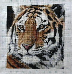 3769c9fe557 (Mini Stitch - Animals Category) Completed by E Suwandi Click on image for  larger picture. Purchase this pattern at our Artecy Shop