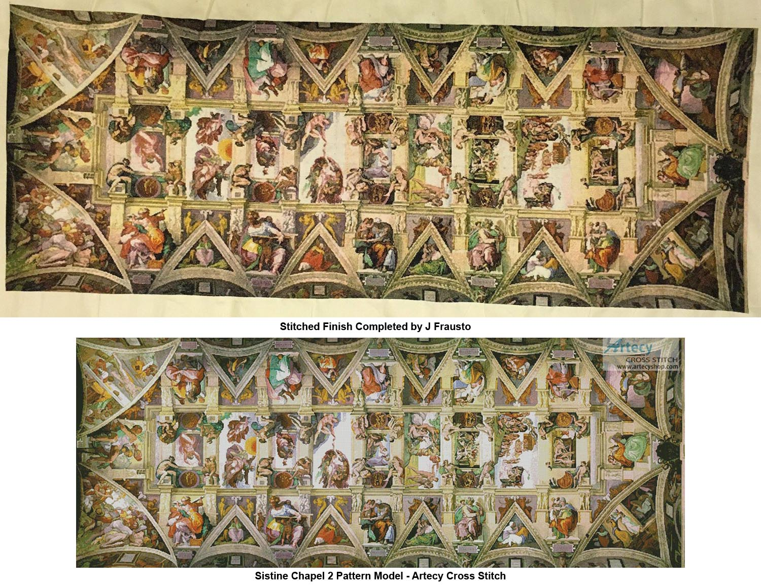 53b81abfe53 Sistine Chapel 2. Completed by J Frausto Click on image for larger picture.